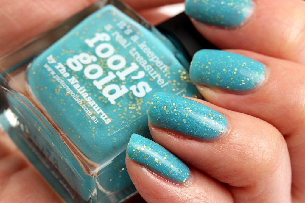 Picture Polish Fool's Gold 2