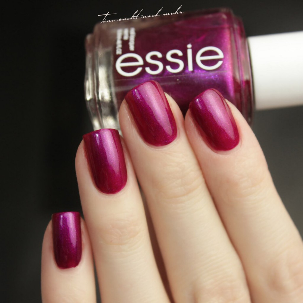 Essie the lace is on