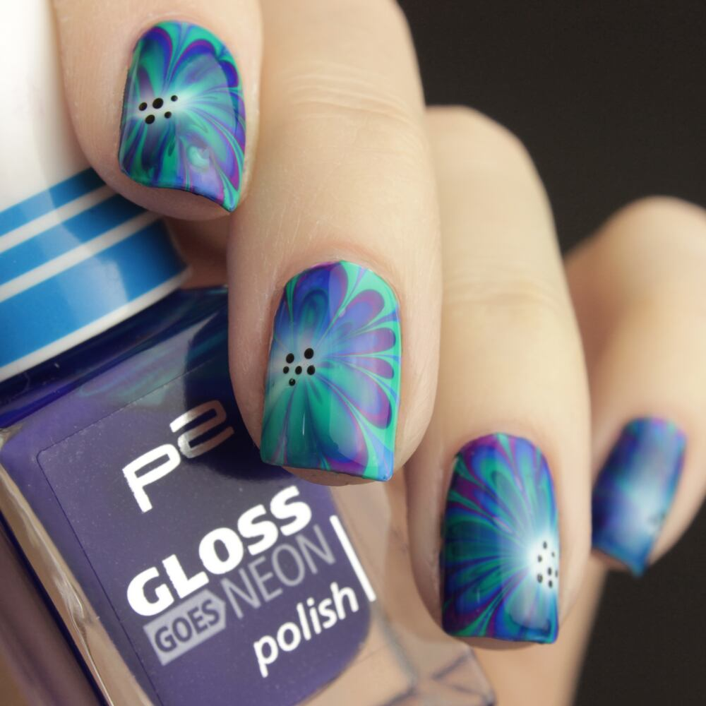 Gloss Goes Neon Marble
